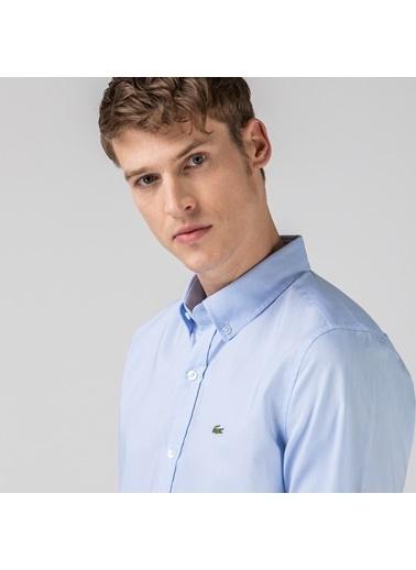 Lacoste Erkek Regular Gömlek CH4976.T01 Mavi